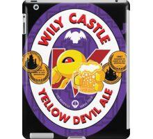 Wily Castle Yellow Devil Ale iPad Case/Skin
