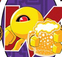 Wily Castle Yellow Devil Ale Sticker