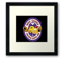 Wily Castle Yellow Devil Ale Framed Print