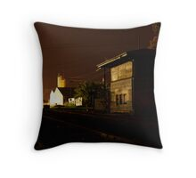 Boarded up and unused Throw Pillow