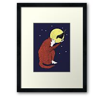 Raven and Fox Framed Print