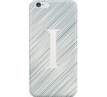 Striped I iPhone Case/Skin