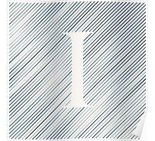 Striped I Poster