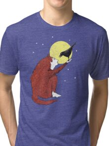 Raven and Fox Tri-blend T-Shirt