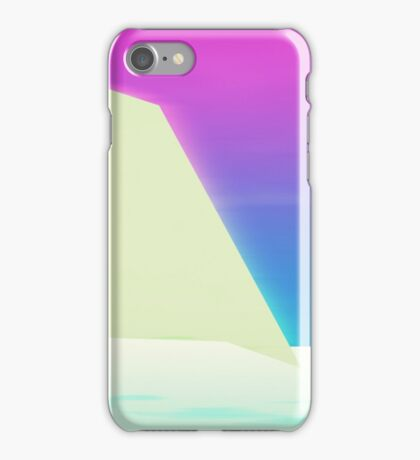 Abstract landscape I iPhone Case/Skin