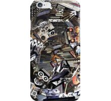 Analogue Technodelic, Sound Engineering Collage iPhone Case/Skin