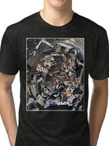 Analogue Technodelic, Sound Engineering Collage Tri-blend T-Shirt