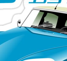Citroën DS 60 years blue Sticker