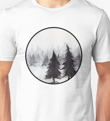 White Winter Unisex T-Shirt