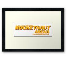 Rocketnaut Arena Framed Print