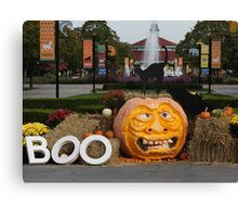 BOO AT THE ZOO Canvas Print