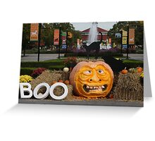 BOO AT THE ZOO Greeting Card