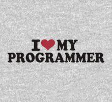 I love my Programmer Kids Tee