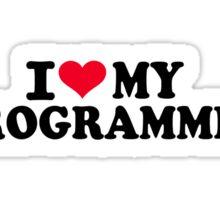 I love my Programmer Sticker