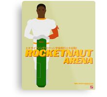 Space Hero One RocketNaut Arena Promo Metal Print