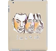 i am in the cult iPad Case/Skin