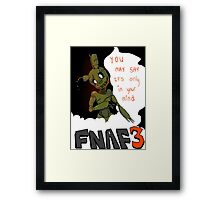 Spring Trap: Five Nights at Freddy's  Framed Print
