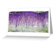 Purple Reeds 1-Available As Art Prints-Mugs,Cases,Duvets,T Shirts,Stickers,etc Greeting Card