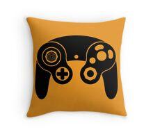 Nintendo GameCube Black Throw Pillow