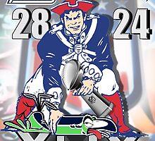 Super Bowl 49 by bkboisvert