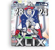 Super Bowl 49 Canvas Print
