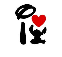 I Heart Stitch Photographic Print