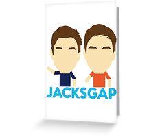 Jack and Finn Greeting Card