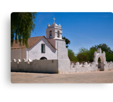 Church, San Pedro de Atacama, Chile Canvas Print