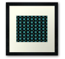 Flowers and Fractals Framed Print