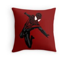 Miles Morales Ultimate Spider-Man Throw Pillow