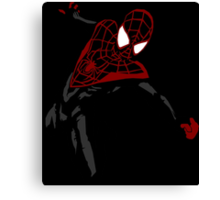 Miles Morales Ultimate Spider-Man Canvas Print