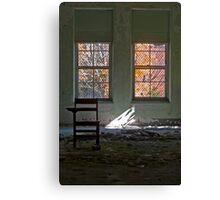 Ethereal Education & Fleeting Foliage Canvas Print