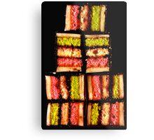 Rainbow cookies Metal Print