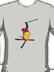 Colorado Flag Skier T-Shirt