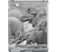 Elephant Family - Tusks and Trunks iPad Case/Skin