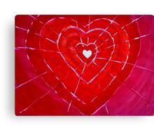WEB OF LOVE Canvas Print