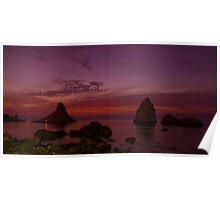 Dawn in Acitrezza Poster
