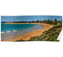 Cosy Corner, Torquay Front Beach, Victoria, Australia Poster