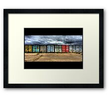 All the evils of man Framed Print