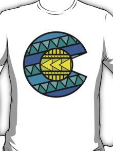 Colorado Tribal Flag: Blues T-Shirt