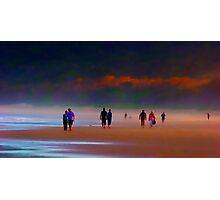 Evening stroll Photographic Print