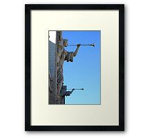 Angels in the City Framed Print