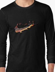 Arabic Sneak Lava Tee Long Sleeve T-Shirt