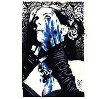Massacre-White Photographic Print