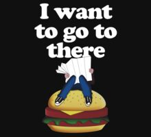 I want to go to there Kids Tee