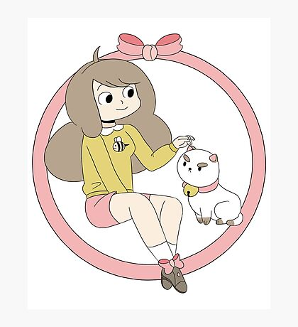 Bee and Puppycat Photographic Print