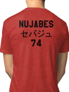 NUJABES 74 RIP Tri-blend T-Shirt