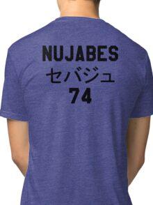 NUJABES 74 RIP Tri-blend T-Shirt