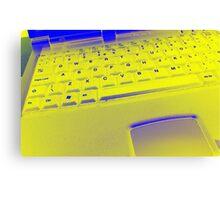 Trippy Keyboard Canvas Print