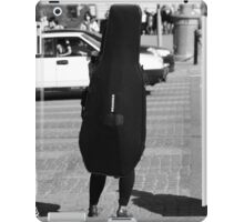 Person Double bass iPad Case/Skin
